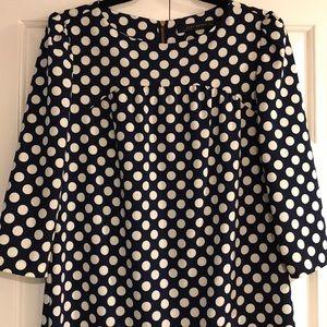 Zara polka dot dress (used in good conditions) M
